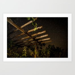 The Night Sky in Costa Rica Art Print