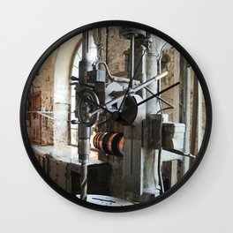 Heavy Industry - Drilling Machine Wall Clock