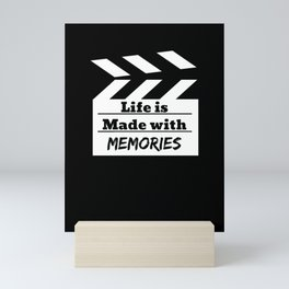 Life Is Made With Memories Mini Art Print