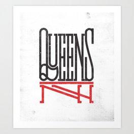 Queens NY Art Print