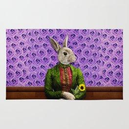 Miss Bunny Lapin in Repose Rug