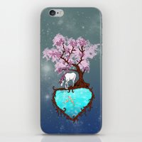 the last unicorn iPhone & iPod Skins featuring Last Unicorn by Astrablink7