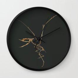 Dsungaripterus Weii Skeleton Study (No Labels) Wall Clock
