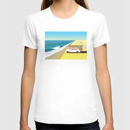 Alone at Bungalow Beach T-shirt
