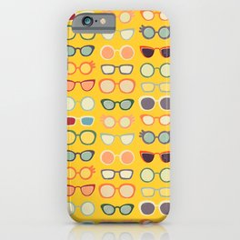 Sunny 50s Retro Glasses iPhone Case