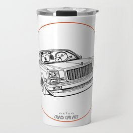 Crazy Car Art 0203 Travel Mug