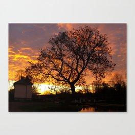 Stenson sunrise Canvas Print