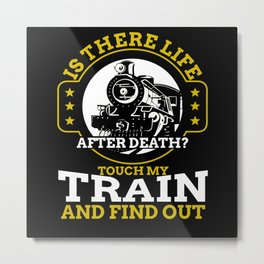 Train Death Metal Print