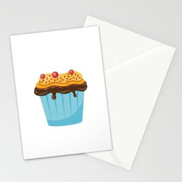 Funny Stud Muffin Electrician Husband design Stationery Cards