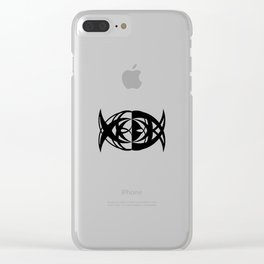 Fishtail Clear iPhone Case