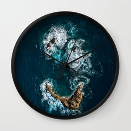 Sea Smile - Ocean Photography Wall Clock