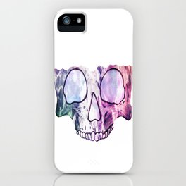TechnoColor Skully iPhone Case
