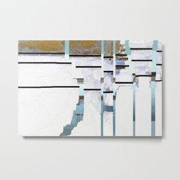 Grid No.1 Metal Print
