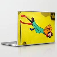 library Laptop & iPad Skins featuring HIS LIBRARY by kasi minami