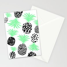 Classy Pineapples Stationery Cards