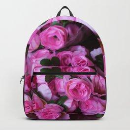 Pink Rose Buds Backpack