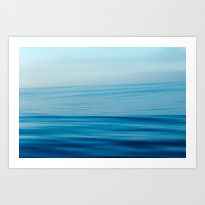 Venice Blur Art Print
