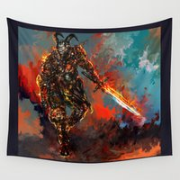 avenger Wall Tapestries featuring iron man by ururuty