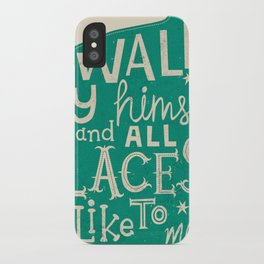 'The Cat That Walked by Himself' iPhone Case