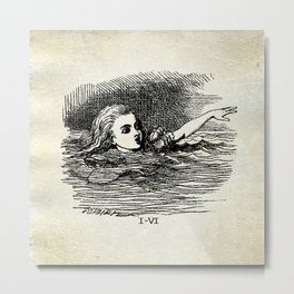 Cry Alice, Cry Metal Print
