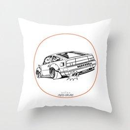 Crazy Car Art 0206 Throw Pillow