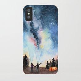 Galaxy Artwork iPhone Case