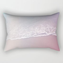 pastel beach #society6 #decor #buyart Rectangular Pillow