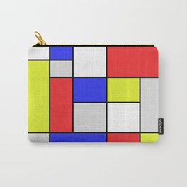 Mondrian #25 Carry-All Pouch