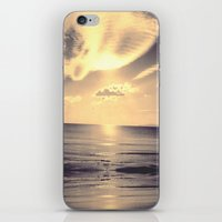 skyline iPhone & iPod Skins featuring Skyline by Mimìnouche