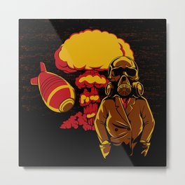 Nuclear explosion Metal Print