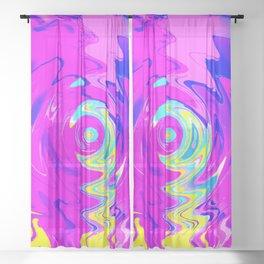 Unlocking Time Sheer Curtain