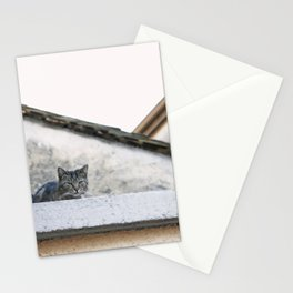 Cat on the Roof Stationery Cards
