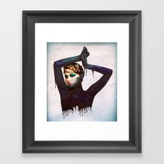 The Girl 4 Framed Art Print