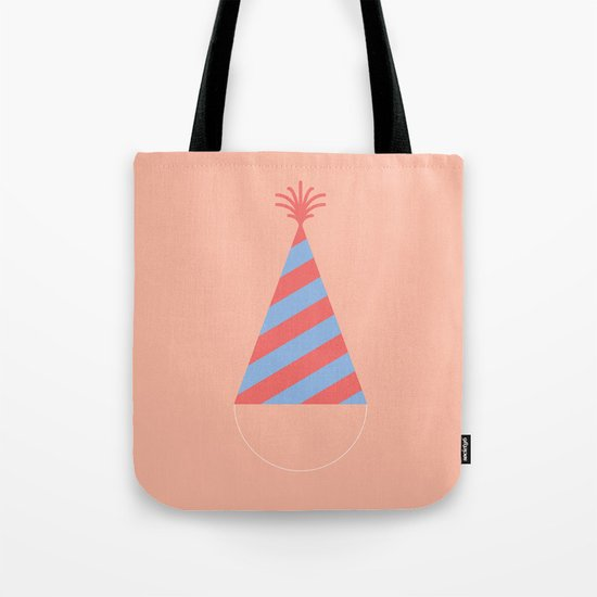 #43 Party Hat Tote Bag