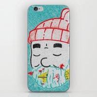 the life aquatic iPhone & iPod Skins featuring Aquatic Life by Derek Eads