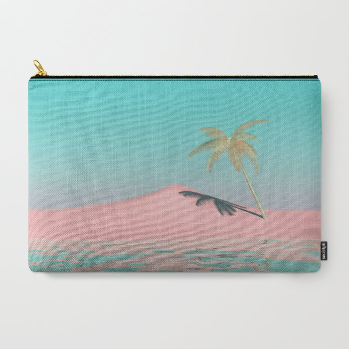 Palm Tree Oasis Carry-All Pouch