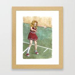 The Cheering Dead Framed Art Print