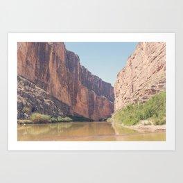 Santa Elena Canyon Art Print