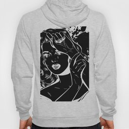 Crying Comic Book Damsel in Distress Hoody