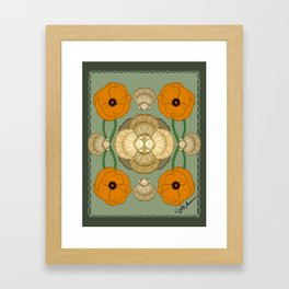California Calling Framed Art Print
