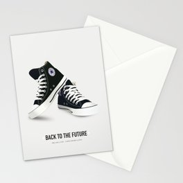Back to the Future - Alternative Movie Poster Stationery Cards