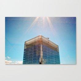 Calgary Skyscraper Canvas Print