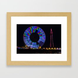Central Pier Blackpool Framed Art Print