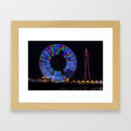 Central Pier Blackpool Framed Art Print