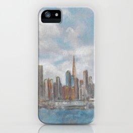 NY Skyline iPhone Case