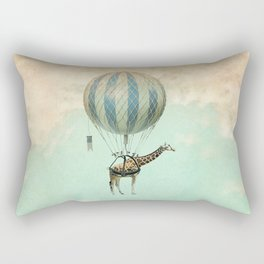 Sticking your neck out, giraffe Rectangular Pillow