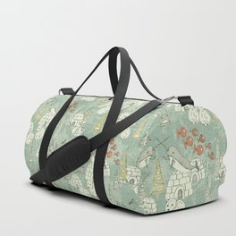 arctic retro Duffle Bag