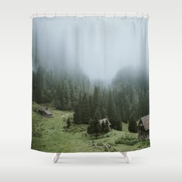 Planina pri jezeru Shower Curtain
