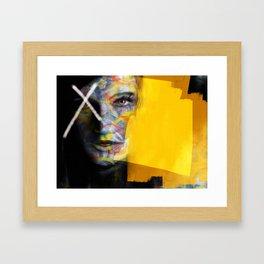 Golden Lust Framed Art Print