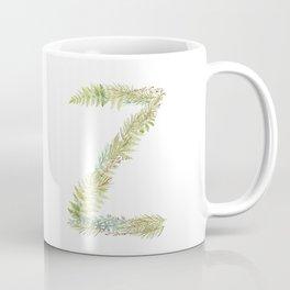 Initial Z Coffee Mug
